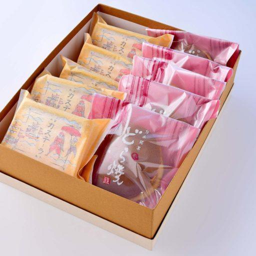 箱詰め菓子